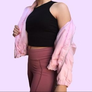 Light Pink Track Jacket